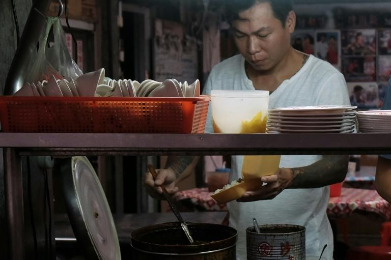 Yen Wei-shun used to be a gangster in Taiwan but now gives out noodles to the poor