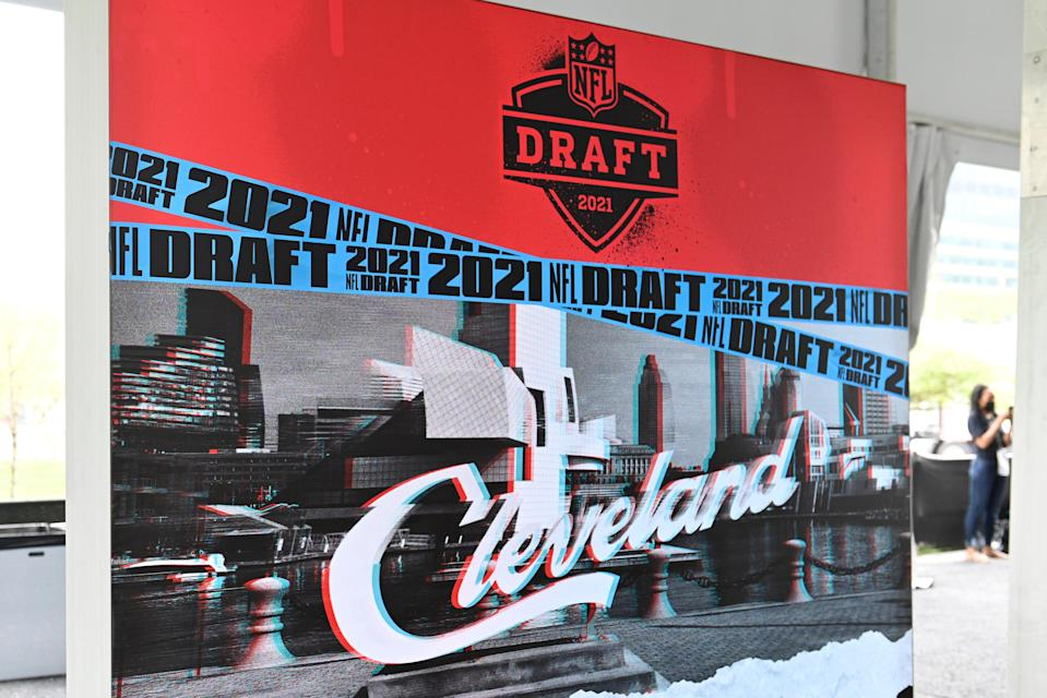 <p>The 2021 NFL Draft takes place in Cleveland, Ohio</p> (Getty Images)