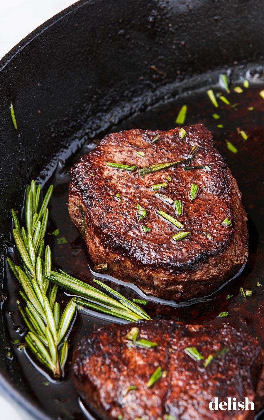 """<p>So simple. So perfect. So keto.</p><p>Get the recipe from <a href=""""https://www.delish.com/cooking/recipe-ideas/a23515113/how-to-cook-filet-mignon/"""" rel=""""nofollow noopener"""" target=""""_blank"""" data-ylk=""""slk:Delish"""" class=""""link rapid-noclick-resp"""">Delish</a>.</p>"""