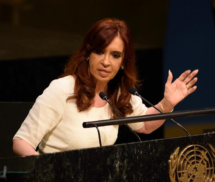 Cristina Kirchner ruled Argentina from 2007-15 (AFP Photo/DON EMMERT)