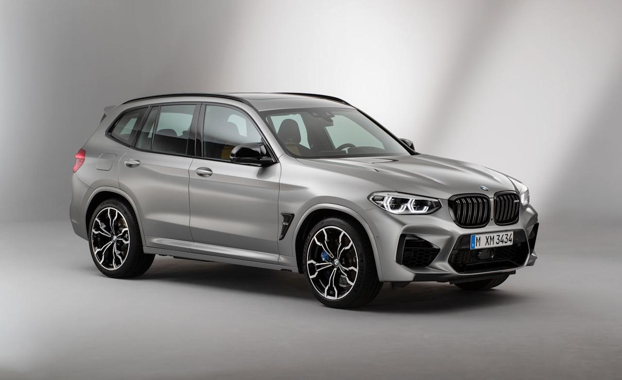 "<p>BMW's M GmbH performance division has finally turned its attention to the compact X3 and X4 crossovers, giving them the full M treatment for 2020. <a rel=""nofollow"" href=""https://www.caranddriver.com/bmw/x3-m"">The X3 M</a> and<a rel=""nofollow"" href=""https://www.caranddriver.com/bmw/x4-m""> X4 M</a> share a 473-hp 3.0-liter twin-turbocharged straight-six, which can be upgraded to 503 horsepower in Competition spec.  Either body style (the X3 is the traditional SUV, the X4 is its low-roof ""coupe"" sibling) is said to take 4.1 seconds to reach 60 mph in standard guise and 4.0 seconds flat in more potent Competition form.</p>"