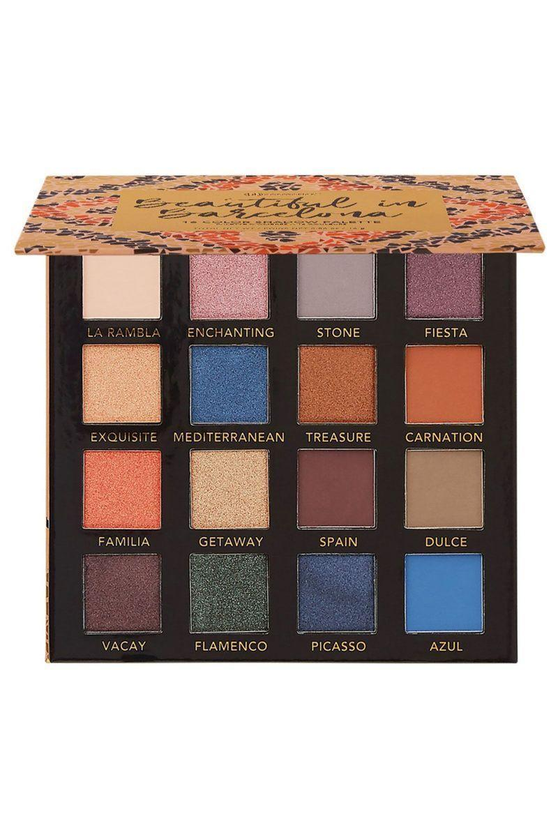"""<p><strong>BH Cosmetics</strong></p><p>beautybay.com</p><p><strong>$17.00</strong></p><p><a href=""""https://go.redirectingat.com?id=74968X1596630&url=https%3A%2F%2Fwww.beautybay.com%2Fp%2Fbh-cosmetics%2Fbeautiful-in-barcelona-palette%2F&sref=https%3A%2F%2Fwww.seventeen.com%2Fbeauty%2Fg29487979%2Fbest-eyeshadow-makeup-palettes%2F"""" rel=""""nofollow noopener"""" target=""""_blank"""" data-ylk=""""slk:Shop Now"""" class=""""link rapid-noclick-resp"""">Shop Now</a></p><p>If you're in the market for a cool-toned palette, you probably know how tough it is to find one that's versatile and of great quality in a sea of warm shades. This 16-color palette features the most gorgeous, vibrant blues and greens, in addition to warm neutrals to layer 'em with. </p>"""