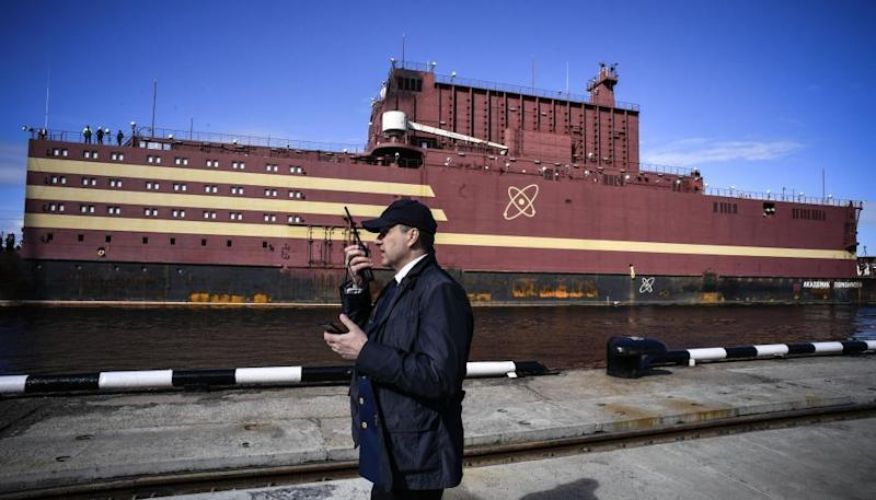 Russian 'Nuclear Titanic' Floating Power Plant Arrives in Arctic