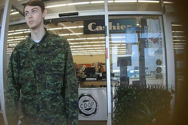PHOTO: Bryer Schmegelsky, 18 from Port Alberni, named as a suspect along with Kam McLeod, 19 in the murder of an Australian tourist and his American girlfriend in northern British Columbia, and charged with the second-degree murder of Leonard Dyck. (Handout/Reuters)
