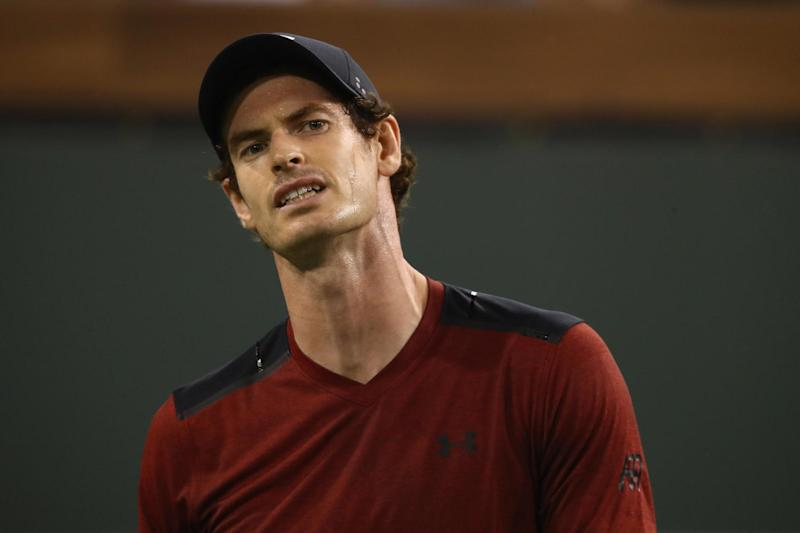 Sidelined | Andy Murray has been ruled out of Great Britain's Davis Cup quarter-final against France: Getty Images