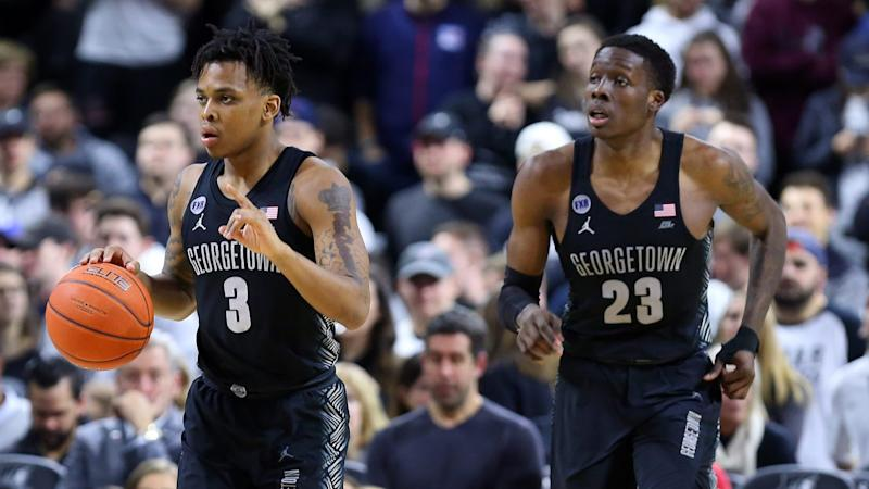 Top Georgetown players Akinjo, LeBlanc off basketball team