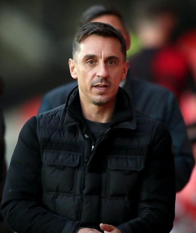 Gary Neville in bid to get Manchester 'back on its feet'