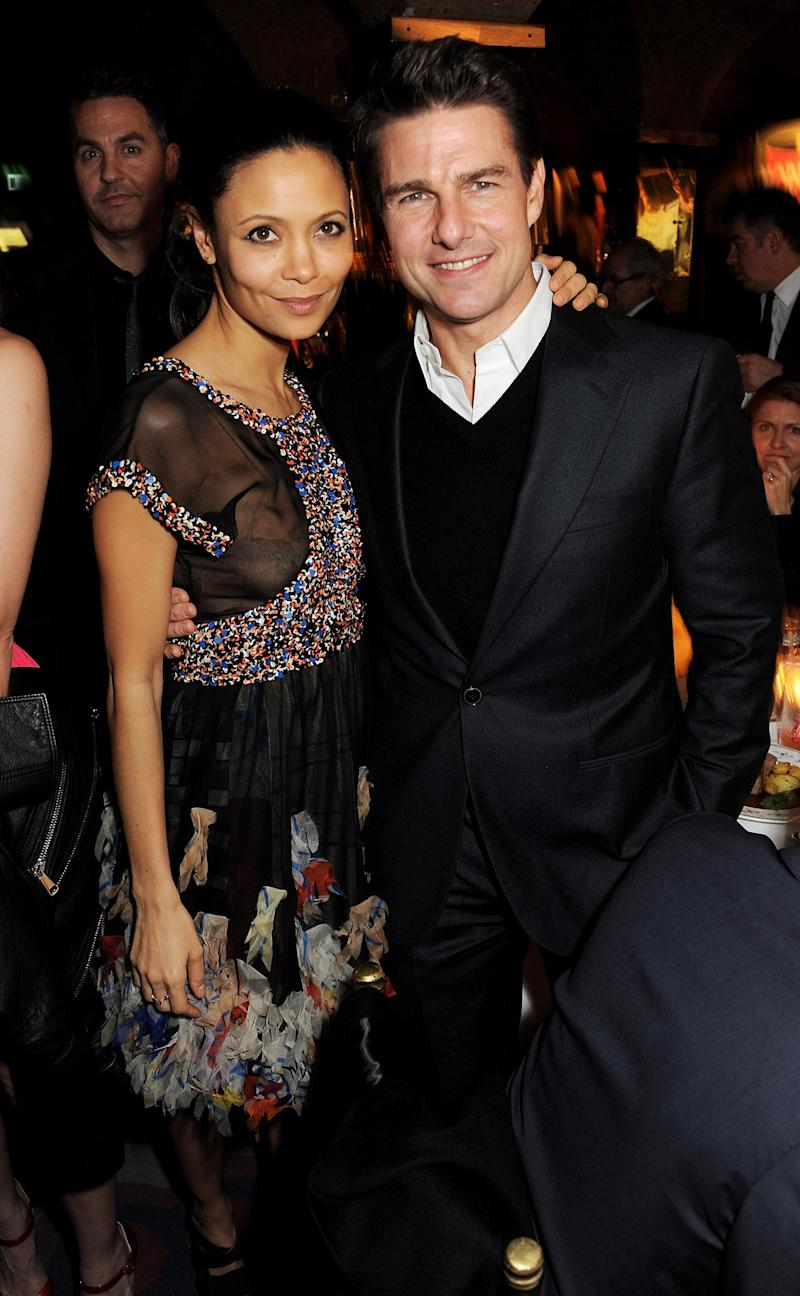 Thandie Newton and Tom Cruise (Getty Images)