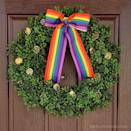 "<p>This wreath may be made of faux boxwood, but faith and begorrah it does have a cloverish feel, doesn't it? And that rainbow ribbon is a gorgeous final touch!</p><p><strong>Get the tutorial at <a href=""https://www.thehowtomom.com/easy-st-patricks-day-wreath/"" rel=""nofollow noopener"" target=""_blank"" data-ylk=""slk:The How To Mom"" class=""link rapid-noclick-resp"">The How To Mom</a>.</strong></p><p><a class=""link rapid-noclick-resp"" href=""https://www.amazon.com/gp/product/B06X1F8G3D/ref=as_li_ss_tl?tag=syn-yahoo-20&ascsubtag=%5Bartid%7C10050.g.35162910%5Bsrc%7Cyahoo-us"" rel=""nofollow noopener"" target=""_blank"" data-ylk=""slk:SHOP RAINBOW RIBBON"">SHOP RAINBOW RIBBON</a><br></p>"