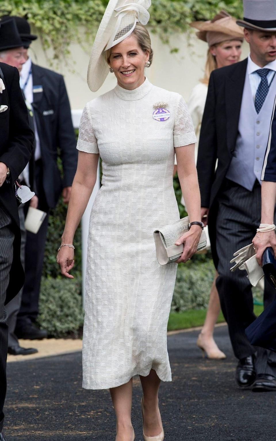 Sophie, Countess of Wessex on day 1 of Royal Ascot - UK Press