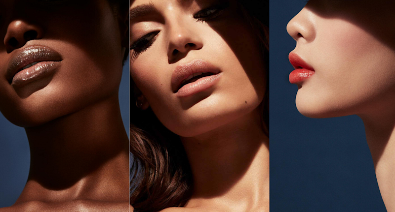 Fenty Beauty's new Slip Shine Sheer Shiny Lipstick is available now. Images via Fenty Beauty.