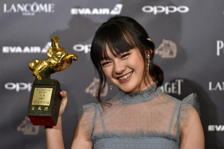 "Taiwanese actress Vicky Chen, 14, saw off two former Golden Horse winners to collect the best supporting actress award for her performance in ""The Bold, the Corrupt, and the Beautiful"""