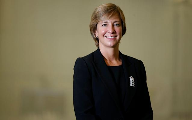 <span>Top woman:Director of England Women's Cricket Clare Connor</span> <span>Credit: Reuters </span>