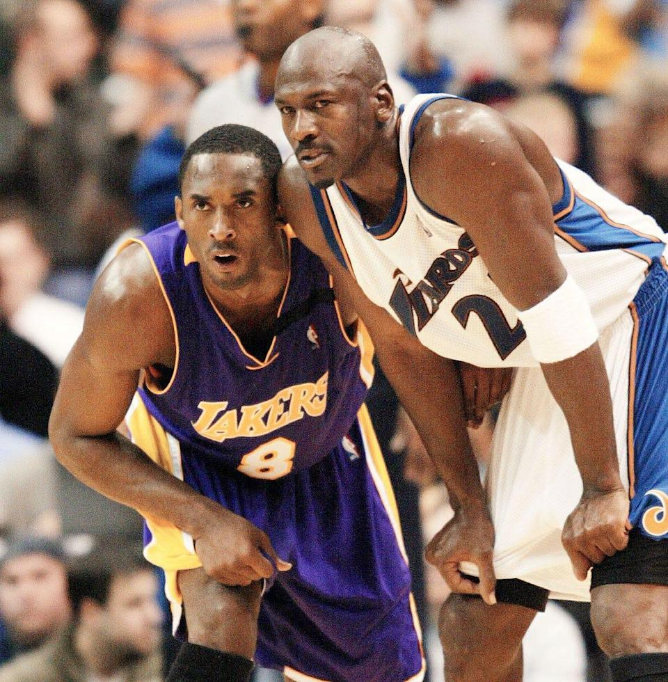 Kobe Bryant wanted to be like Michael Jordan in many ways on the court. But those who knew him well said he would have had a much different Hall of Fame speech.