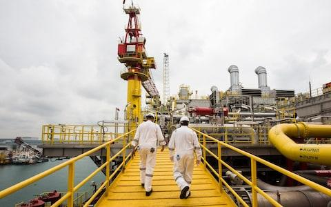 Tullow Oil - Credit: Nicky Loh/Bloomberg News