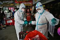 The scientists adapted a device usually used to detect toxic chemicals in the environment (AFP/Lillian SUWANRUMPHA)