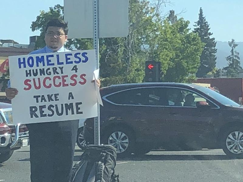 What the Homeless Resume Man Tells Us About Viral \'Feel Good\' Memes