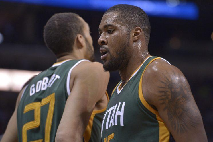 Is there room in Rudy Gobert's shadow for Derrick Favors in Utah? (AP)