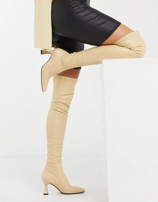 <p><span>ASOS Design Keisha Premium Stretch Over-the-Knee Boot</span> ($81, originally $119)</p>