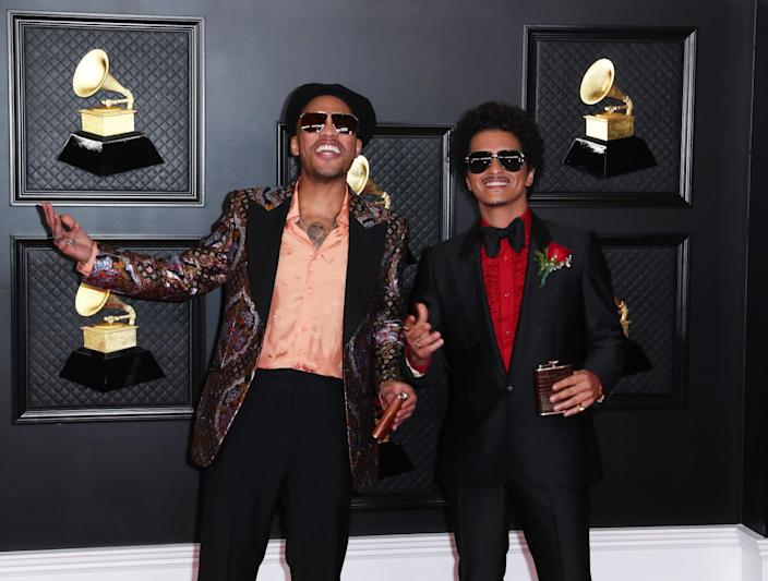 Anderson .Paak and Bruno Mars