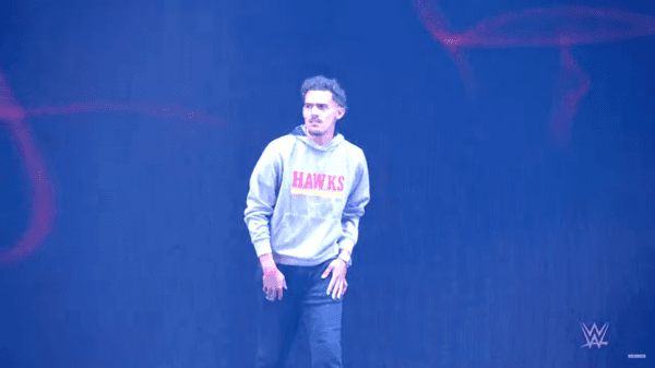 trae young wwe