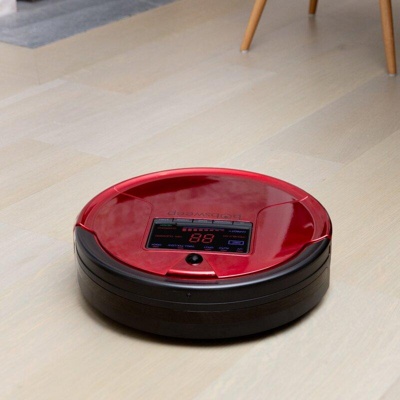 bObsweep PetHair Robotic Vacuum Cleaner with Mop Attachment (Photo: Wayfair)