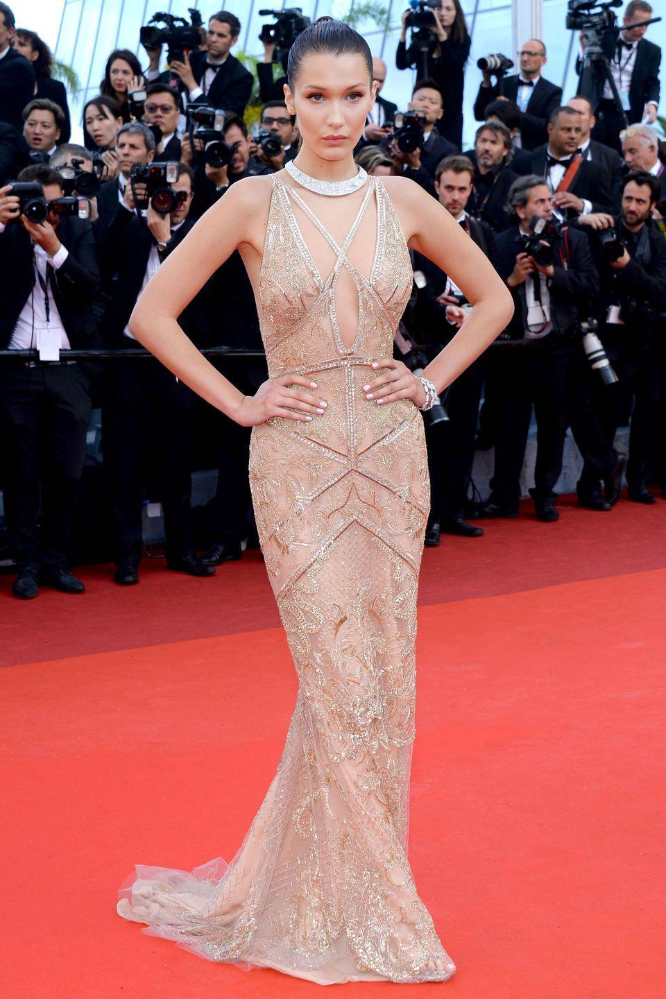 <p>At The <em>Cafe Society</em> premiere and the Opening Night Gala during the 69th annual Cannes Film Festival at the Palais des Festivals in Cannes, France.</p>