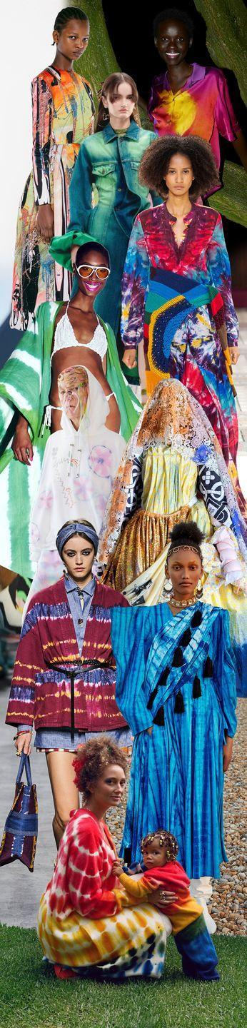 <p>Let's be honest, we've never been ones for do-it-yourself fashion. That's what designers are for. So while we appreciate the sentiment of creating your own colorful tees, we prefer how the experts are translating the counterculture mainstay. From caftans to maxi dresses, sweat suits and denim, these shibori-inspired patterns hit every color of the rainbow, and are decidedly bougie.</p><p><em>Pictured from top to bottom: Christopher Kane, Dries van Noten, Y: Project, Gabriela Hearst, Tom Ford, <em>Collina Strada</em>, <em>Matty Bovan</em>, <em>Christian Dior</em>, <em>Osman Yousefzada</em>, and <em>The Elder Statesman.</em></em> </p>