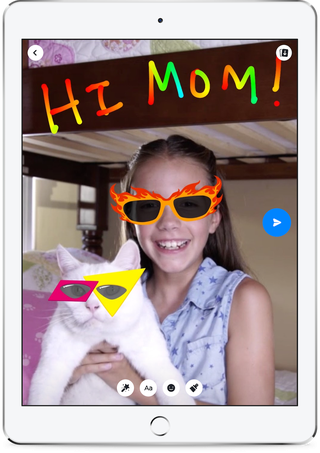 Parents will be able to monitor their child's friend list. Photo: Facebook