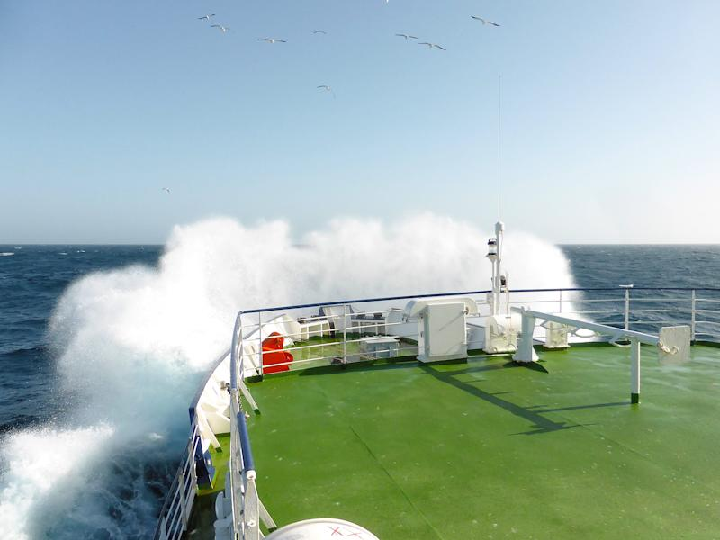 Encounters between cruise ships and extreme storms tend to be rare - This content is subject to copyright.