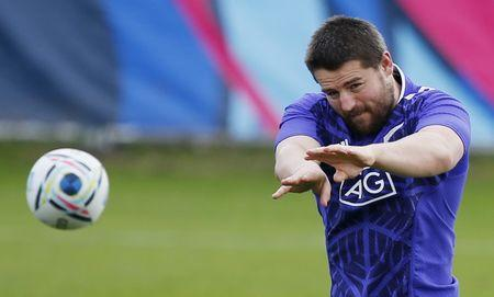FILE PHOTO: Rugby Union - New Zealand Training - Swansea University, Wales - 15/10/15 New Zealand's Dane Coles during training Action Images via Reuters / Peter Cziborra