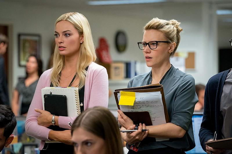"Margot Robbie and Kate McKinnon in ""Bombshell"". (Photo: Lionsgate)"