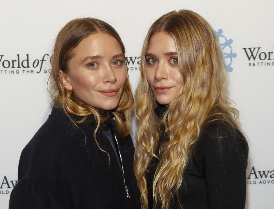 Mary-Kate and Ashley Olsen have been in the public eye for all of their lives. (AP)