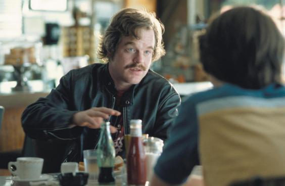'Don't make friends with the rock stars; they'll corrupt your vision' – the late Philip Seymour Hoffman as Lester Bangs in 'Almost Famous' (Rex)