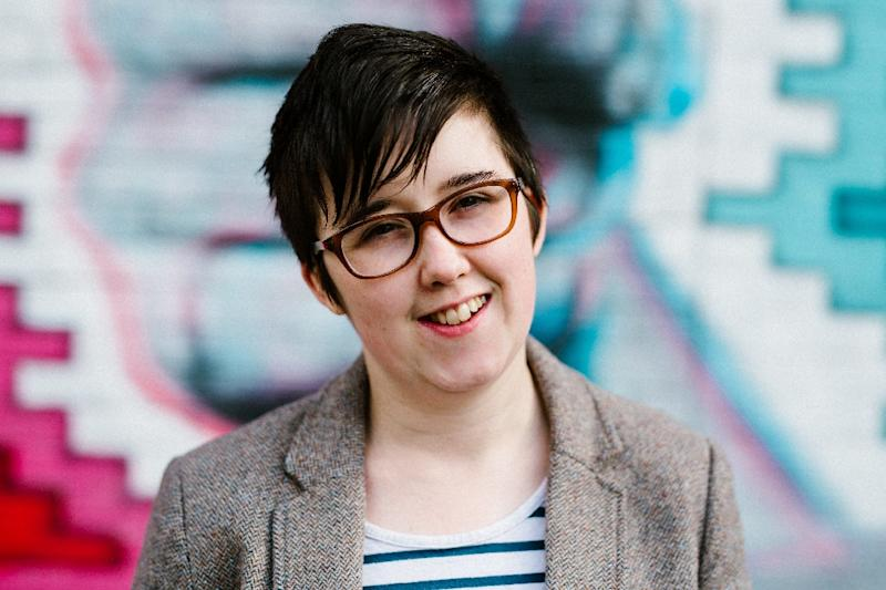 "Lyra McKee was named by Forbes Magazine in 2016 as one of their ""30 under 30"" outstanding figures in media (AFP Photo/Jess LOWE)"