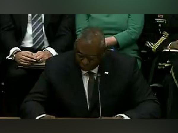 US Defense Secretary Lloyd Austin during the US Senate Armed Services Committee hearing.