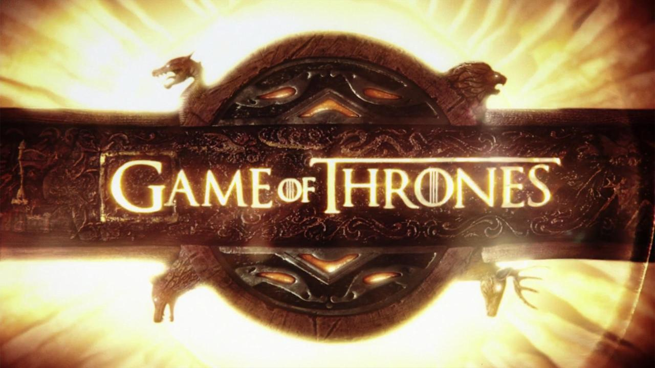 "Almost as long as a regular episode and covering twice the distance, the Emmy-winning opening sequence of HBO's fantasy flagship is an epic movie in and of itself and as close to an all-inclusive cruise of Westeros as any of us will ever get. Even if you don't know some of the <a href=""https://ew.com/tv/game-of-thrones-title-sequence-secrets/"" target=""_blank"">mind-blowing details</a> behind the mechanical credits (courtesy of design firm Elastic), those sweeping strums and powerful drums create an evocative signal that <em>Game of Thrones</em> is marching near."