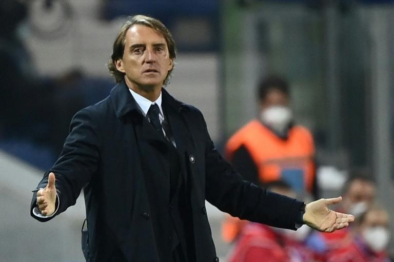 Italy coach Roberto Mancini is just one of many whose involvement in this round of Nations League matches has been compromised by a positive coronavirus test