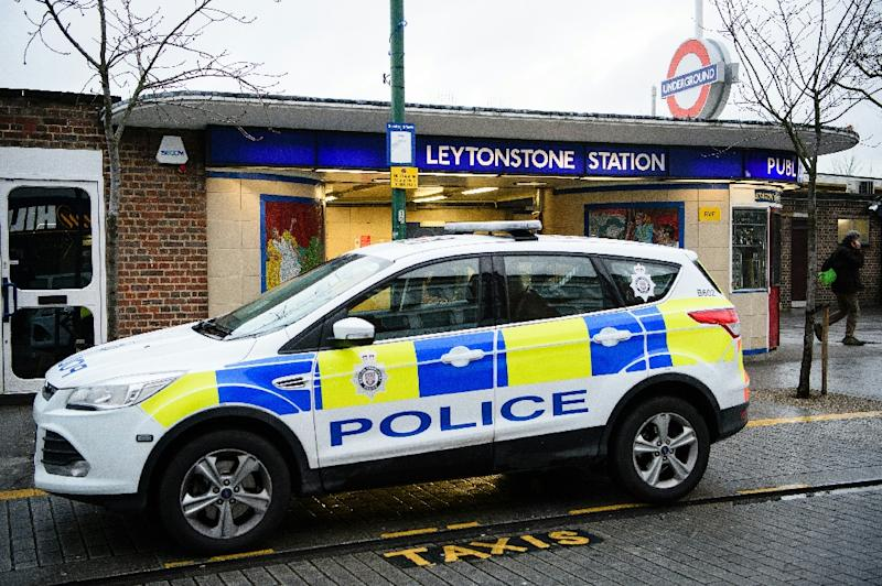 Police fired Taser stun guns at a suspect during an incident at Leytonstone Underground station in London