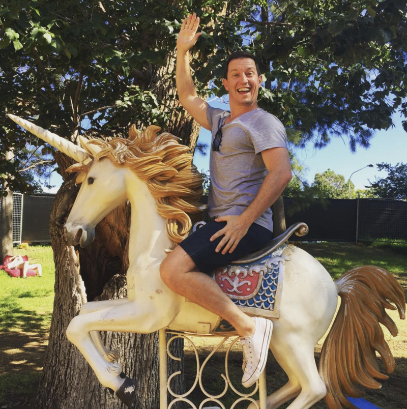 The Aussie star's whimsical humour has won him fans both here and in the US. Photo: Instagram/rovemcmanus.