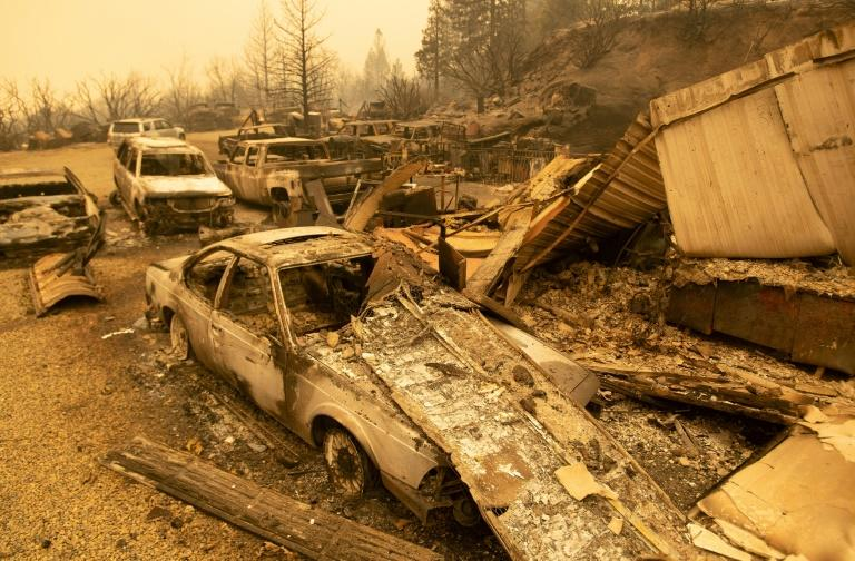 California teen learns to drive while escaping wildfire