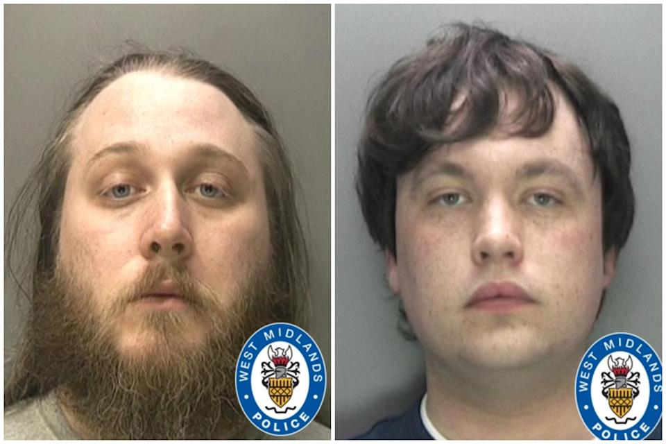 Nathan Maynard-Ellis, left, and David Leesley have been found guilty of murder. (West Midlands Police)
