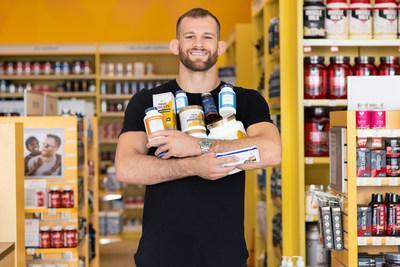 The Vitamin Shoppe has signed a sponsorship agreement with wrestler David Taylor, the 2018 World Champion in his weight class and an advocate for healthy living.