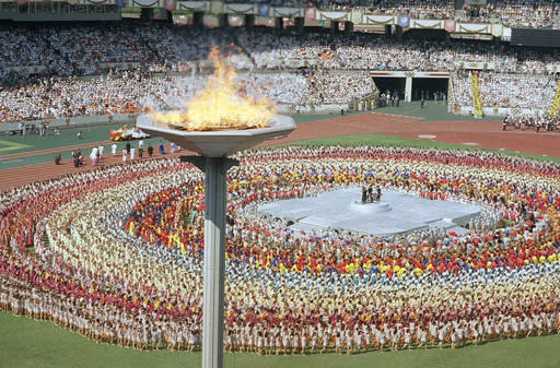 AP WAS THERE: 1988 Seoul Olympics