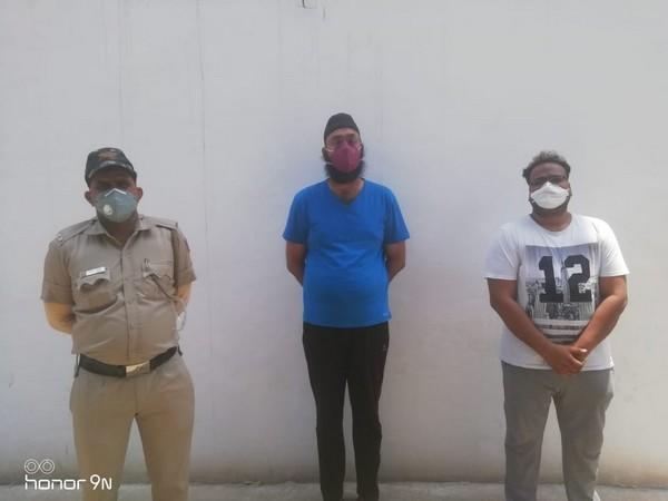 The accused in oxygen concentrator black marketing case - Gurmeet Singh and Anuj Minda. (Photo/ANI)