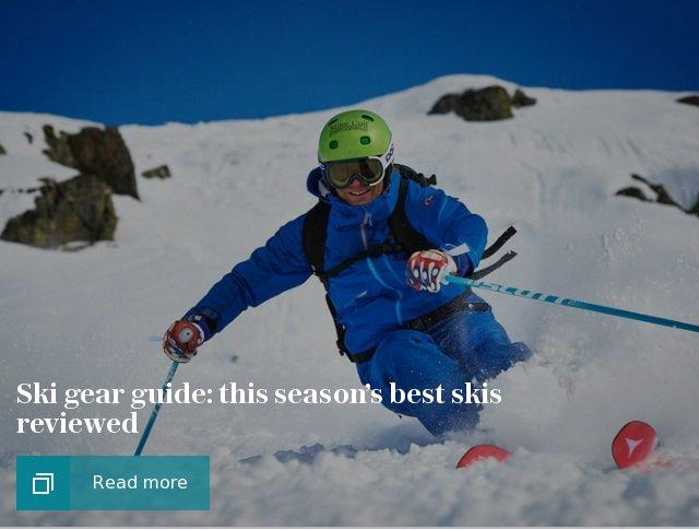 Ski gear guide: this season's best skis reviewed
