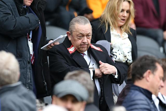 West Ham to appoint a director of football as David Sullivan takes a step back from transfer dealings