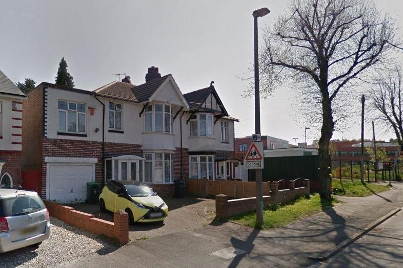 A double murder probe was launched after police found two bodies in a house in Oldbury (Google Maps)