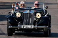 """<p>The couple shared their latest Christmas card photo on 20 December on their social media platforms.</p><p>The image sees the couple driving along in a car in Havana, Cuba earlier in 2019. </p><p><a href=""""https://www.instagram.com/p/B6SrhJmgAZb/?utm_source=ig_web_copy_link"""" rel=""""nofollow noopener"""" target=""""_blank"""" data-ylk=""""slk:See the original post on Instagram"""" class=""""link rapid-noclick-resp"""">See the original post on Instagram</a></p>"""