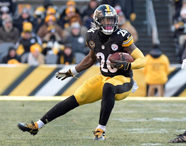 Le'Veon Bell signed with a team that desperately needed help but why do I feel conflicted? (AP Photo/Don Wright, File)